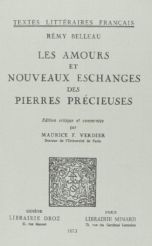 Les Amours et Nouveaux Eschanges des Pierres