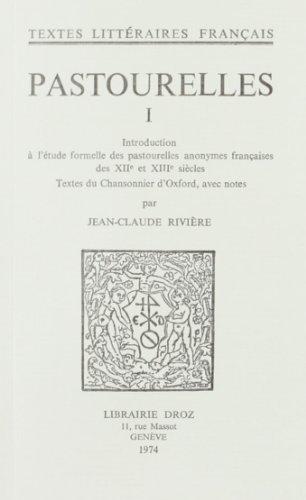 9782600024884: Pastourelles