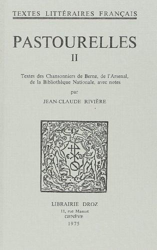 9782600024945: Pastourelles