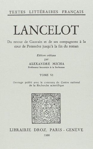 9782600025577: lancelot : roman en prose du xiiie siecle