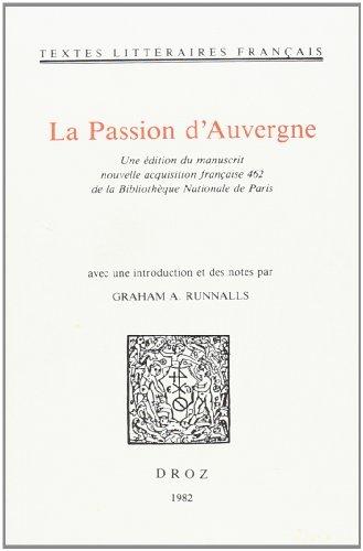 9782600025737: la passion d'auvergne