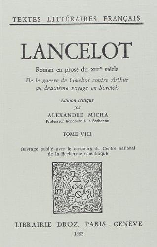 9782600025775: Lancelot : Roman en Prose du Xiiie Siecle