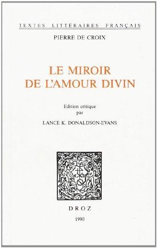 9782600026529: Le Miroir de l'Amour Divin