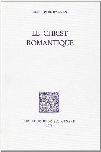 9782600035286: Le Christ Romantique