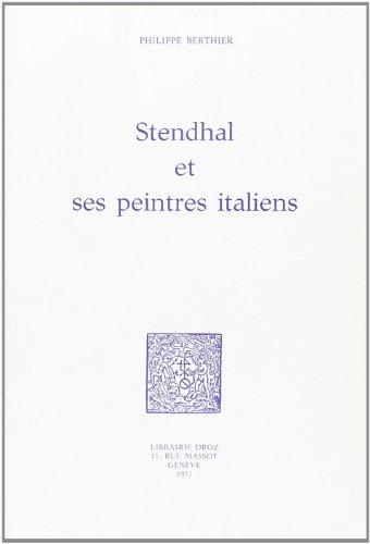 9782600035552: stendhal et ses peintres italiens