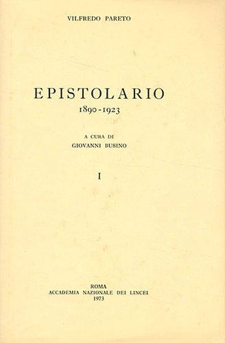 epistolario, 1890-1923 (9782600040723) by [???]