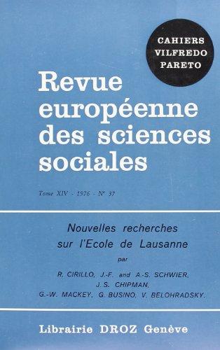 9782600041959: Nouvelles Recherches Sur l'Ecole de Lausanne
