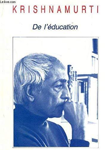 9782603006436: De l'education 051593 (Homme & Problème)
