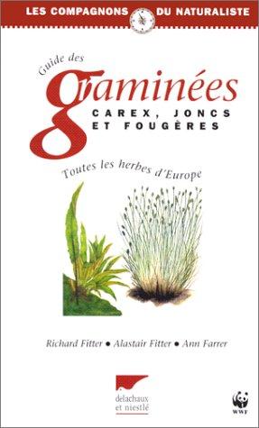 9782603007525: Guide des graminées, carex, joncs et fougères d'Europe