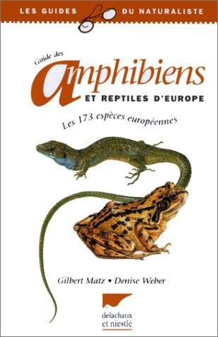 9782603011188: Guide des amphibiens et reptiles d'Europe