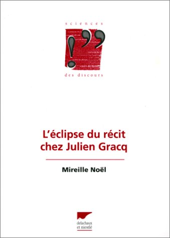 9782603012352: Eclipse du r�cit chez Julien Graq