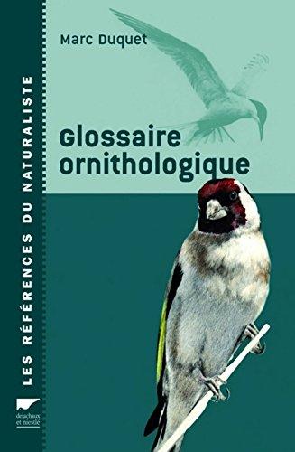 9782603014790: Glossaire ornithologique