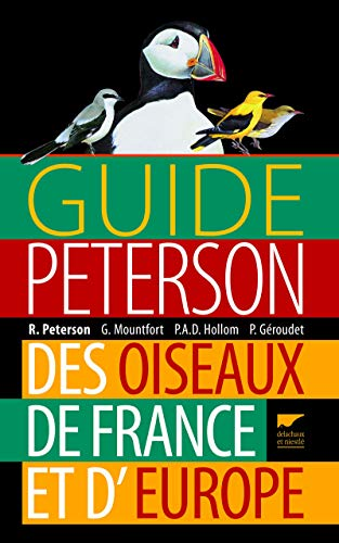 9782603019467: Guide Peterson des oiseaux de France et d'Europe