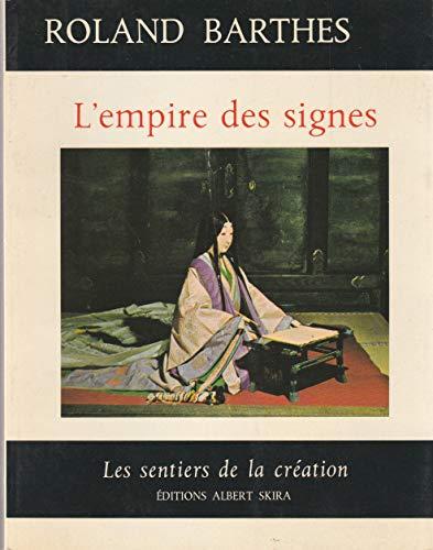 L'empire des signes Barthes, Roland