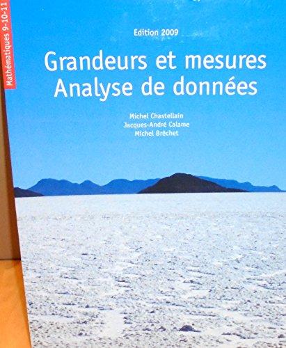 9782606013110: Mathématiques 9-10-11 Grandeurs et mesures analyse de données