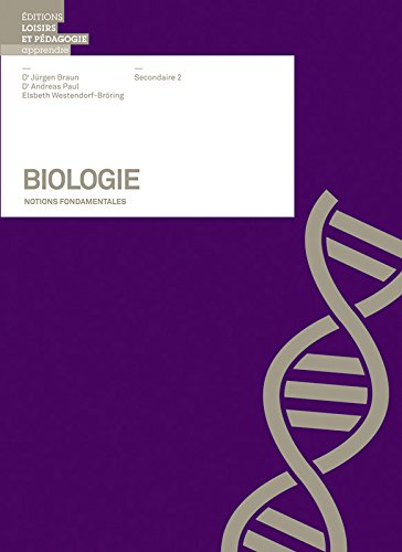 BIOLOGIE - NOTIONS FONDAMENTALES SII (LEP) (French: LANDOLT, Peter; GFELLER,