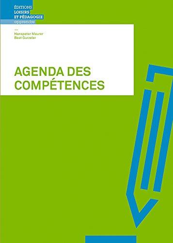 AGENDA DES COMPETENCES - OUTILS ET TECHNIQUES D'APPRENTISSAGE: XXX