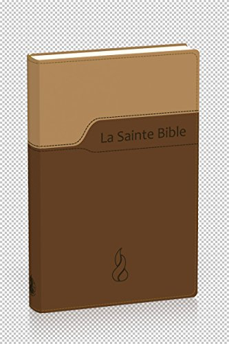 9782608115454: La Sainte Bible : Nouvelle �dition de Gen�ve 1979, reli� souple, Vivella brun duo