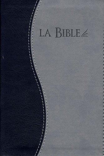 9782608122438: La Bible Segond 21 : Edition souple, similicuir, duo gris et bleu, tranches argent