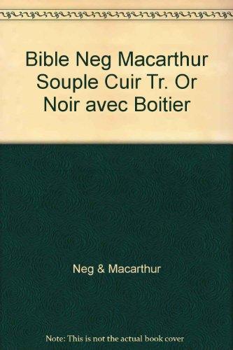 9782608174796: LA SAINTE BIBLE (MACARTHUR STUDY BIBLE) FRENCH