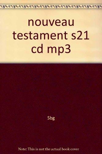 9782608300010: nouveau testament s21 cd mp3