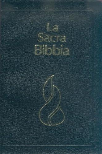 9782608312594: Italian Bible, La Sacra Bibbia, New Revised Version, Black Leather
