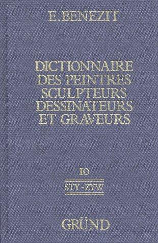 9782700001587: Dictionnaire Des Peintres Sculpteurs Dessin Ateurs Et Graveurs Nouvelle Edition