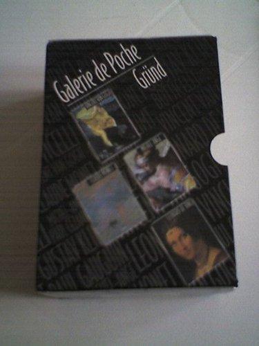 9782700019797: Galerie de Poche Coffret 8 Volumes : Botticelli. Paul Gauguin. Paul C�zanne. Gustav Klimt. Vincent Van Gogh. Claude Monet. Michel-Ange. L�onard de Vinci