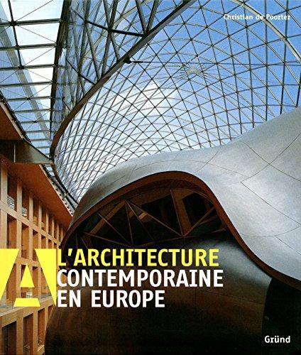 9782700027358: L'architecture contemporaine en Europe (French Edition)