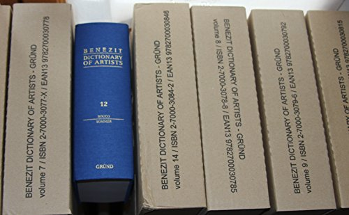 9782700030709: Benezit Dictionary of Artists (14 vol set)