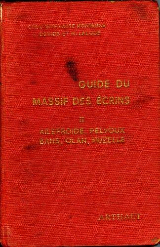 9782700302325: Le massif des Ecrins