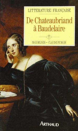 9782700305159: De Chateaubriand à Baudelaire
