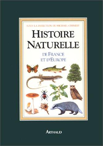 9782700310078: Histoire naturelle de France et d'Europe