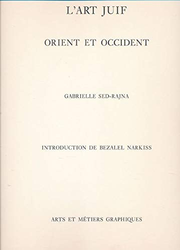 9782700400113: L'Art juif (Orient et Occident) (French Edition)