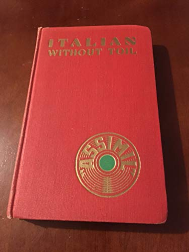 9782700500165: Italian without Toil