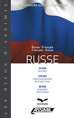 9782700504378: Dictionnaire Russe (French Edition)