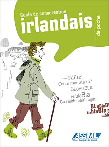 9782700505016: L'Irlandais de poche guide de conversaation - Irish phrasebook for French speakers (Irish Edition)