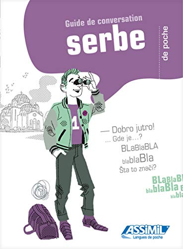 9782700505139: Guide de conservation serbe - Serbian for French speakers phrasebook (Serbian Edition)