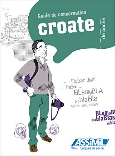 Guide Poche Croate - Croatian phrasebook for: Collectif