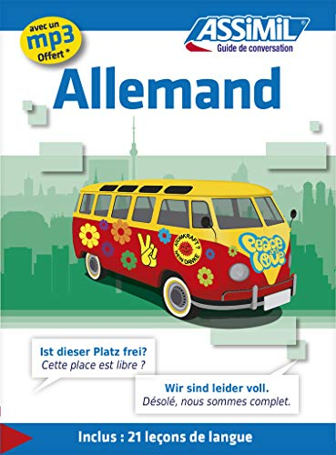 9782700505573: Guide de conversation Allemand - German conversation guide for French speakers (German Edition)