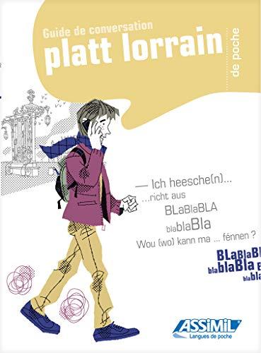 9782700505863: Le Platt Lorrain de poche