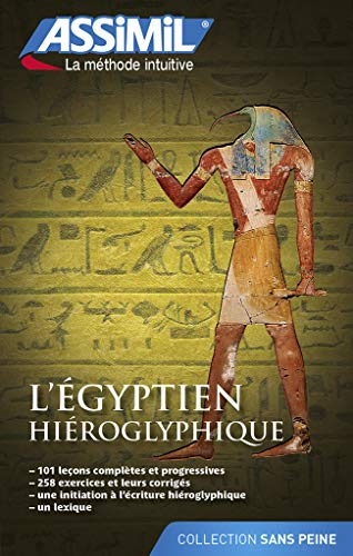 9782700505917: L'Egyptien Hieroglyphique - livre - hieroglyphic Egyptian for French speakers - book (French Edition)