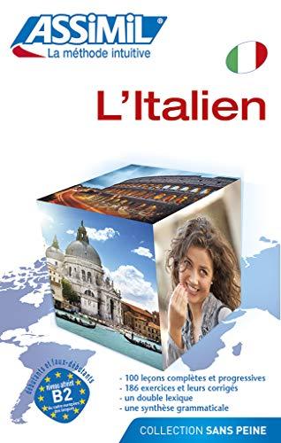 9782700506457: Assimil L' Italien sans peine livre ; italien a partir du francais (Italian Edition)