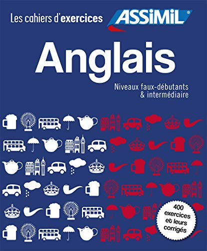 9782700507041: Asimil Coffret Cahiers d'Exercices Anglais Faux-Debutants + Intermediaire (French Edition)