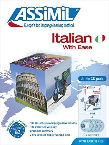 9782700510645: Italian with ease. Con 4 CD (Senza sforzo)