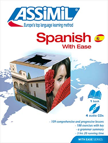9782700510706: Spanish With Ease: Day by Day Method (Assimil Language Learning Programs, English Base) (English and Spanish Edition)