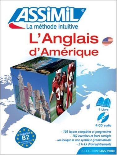 9782700510904: L'Américain sans Peine ; Livre + CD Audio (x4)