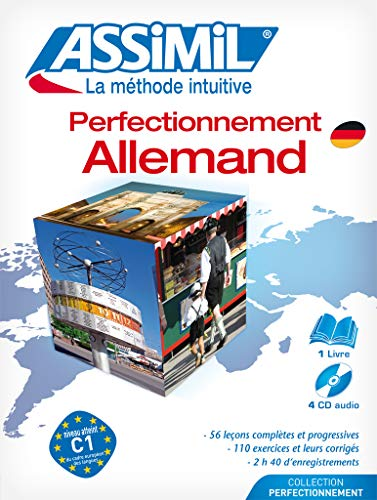 9782700510997: Assimil German: Perfectionnement Allemand CD Pack (German Edition)