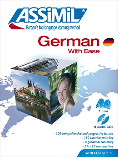9782700517507: German with ease. Con 4 CD Audio (Senza sforzo)