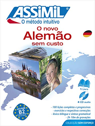 9782700520064: Assimil Novo Alemao Sem Custo - Learn German for portuguese speakers -Book+4CD's (German Edition)